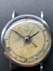 1940s SS Omega Cylinder Case  2416 Cal 28 Repair Project