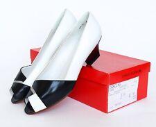 Charles Jourdan Vintage Zapatos Peep Toe Verano Cuñas 1980s Reino Unido 5 (Estrecho)