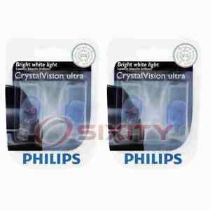 2 pc Philips Back Up Light Bulbs for Nissan 370Z Altima Altra EV Aprio sn