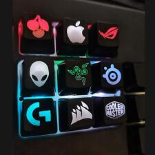 Backlit keycaps Transparent Razer OSU LOGO keys mechanical keycap for MX switch