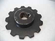 "Large Sprocket 13 Tooth, 2 7/16"" Bore, 2 3/4"" overall thickness Solid Steel"