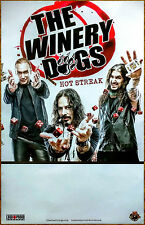 THE WINERY DOGS Hot Streak 2015 Ltd Ed RARE New Poster +FREE Metal Rock Poster!