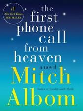 THE FIRST PHONE CALL FROM HEAVEN by Mitch Albom FREE SHIPPING hardcover book