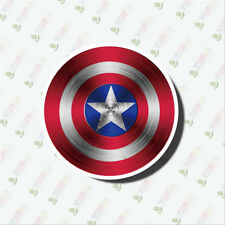 10pc Captain America Sticker Bomb Decal Vinyl Roll Car Skate Skateboard Laptop