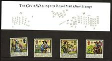 GB 1992 350TH ANV OF THE CIVIL WAR PRESENTATION PACK NO 228