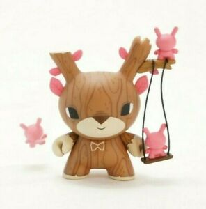 "Kidrobot Dunny 3"" Designer Toy Awards DTA Gary Ham Autumn Stag Art Vinyl Figure"