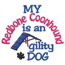 My Redbone Coonhound is An Agility Dog Fleece Jacket - Dc1792L Size S - Xxl