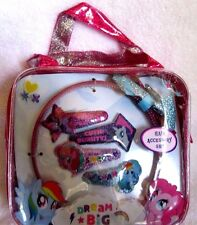 Hasbro My Little Pony Hair Accessory Set with Carrying Purse/Bag-New!