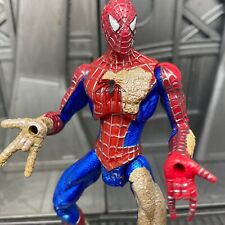 """Marvel Legends Spider-Man 3 Movie Sand Man SPIDER-MAN 5"""" Action Figure 4 BROKE"""
