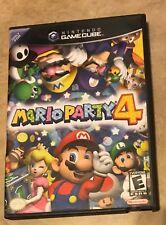 Mario Party 4 EMPTY REPLACEMENT CASE - Gamecube NO Game NO Manual