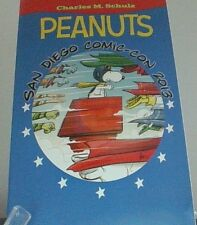 Peanuts Snoopy Flying Ace San Diego Comic Con Comic Book Nice