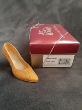 Just the Right Shoe by Raine - Golden Stilleto - Shoes of the 20th Century