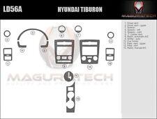 Fits Hyundai Tiburon 2007-2008 Large Premium Wood Dash Trim Kit