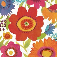 Amscan - Floral Splash Lunch Napkins