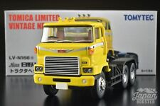 [TOMICA LIMITED VINTAGE NEO LV-N166a 1/64] HINO HH341 TRACTOR HEAD (Yellow)