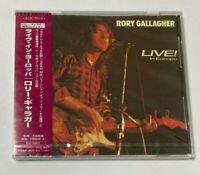 "Rory Gallagher SEALED BRAND NEW CD Live ""In Europe"" 1972 Japan OBI"