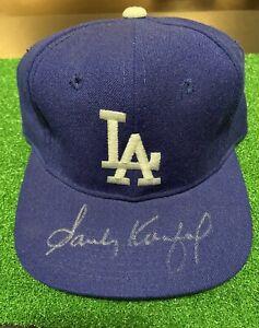 Sandy Koufax Los Angeles Dodgers Rare Signed Baseball Hat.