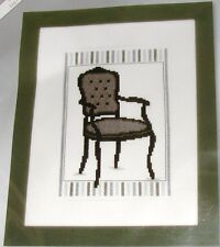 "NEW VERVACO ""BAROK CHAIR II"" COUNTED CROSS STITCH KIT- Comb.Shipping Offered"