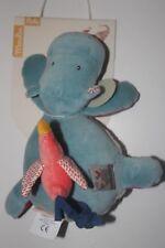 Doudou musical hippopotame  les papoum Moulin Roty ref 658041
