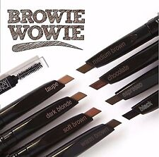 Eyebrow Pencil- LA Colors Retractable Slant Tip & Brush- Natural hair-like look