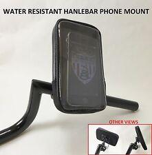 Cell Phone Handlebar Mount Holder Water Resistant GPS Garmin Iphone Droid Suzuki