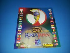 PANINI WORLD CUP 2002 WM 02 Leeralbum empty album