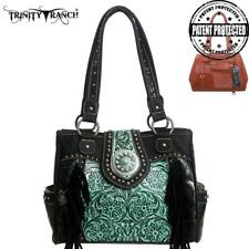 """Stunning """"Montana West"""" Black/THand Bag Concealed Carry Leather/PU NWT MSRP $144"""