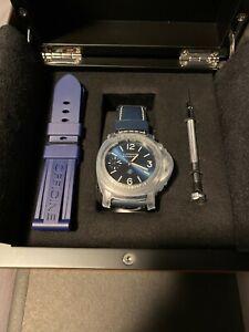 Panerai Luminor Blu Mare Mechanical - 44mm -  Pam 1085 - PAM01085 - Brand New !