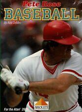 Pete Rose Baseball Atari 2600 Sealed Retail Box Nice