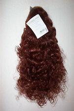 HAARTEIL -BELLA 2- KASTANIE- Kleine Locken- Pracht Spange Solida Bel Hair