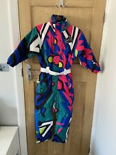 Kids Retro Ski Suit! Gorgeous! Brand new Ages 7-10 size listed XXXS, by OOSC