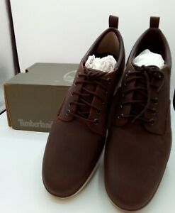 Men's Timberland Bradstreet Oxford Brown Shoes Size 8½  (New in Box)