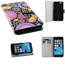 Ultra Soft PU Leather Wallet Phone Case Cover Stand For Apple iPhone 6 6s 4.7""