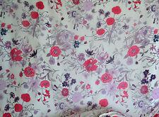 Georgette 100% Seide designer italienischer Seidengeorgette, Blumen 140 cm breit