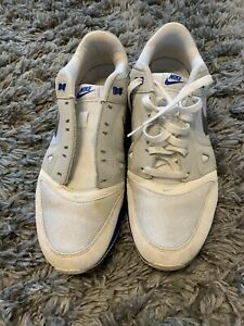 Men's Nike Air Max Lunar. White And Blue Trainers Size 9