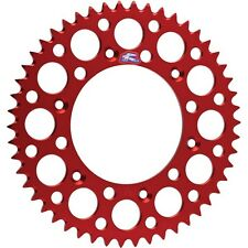 Renthal Aluminium Rear Sprocket 49 Tooth Honda CR CRF Red 154V52049GRD