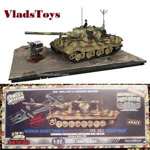 Forces of Valor 1/32 Sd.Kfz.186 Jagdtiger Panzerjager sPzJgAbt 653, #314 801065A