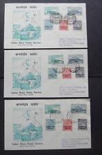 Indian Police Forces 1954 Cambodia/Laos/Vietnam First Day Covers