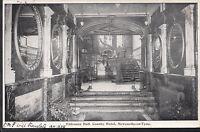 County Durham Postcard - Entrance Hall, County Hotel, Newcastle-On-Tyne  A7413