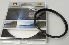 (PRL) DIFOX DIGITAL HMC UV 0 72 mm FILTRO FOTO PHOTO FILTER FILTRE FILTAR FILTRU