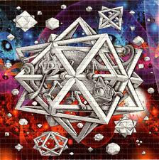 Psychedelic Chameleons BLOTTER ART perforated paper sheet psychedelic art