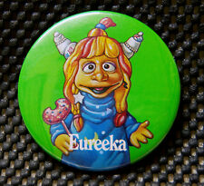 Vintage Pizza Hut Nickelodeon Eureeka's Castle Eureeka Pinback Button Pin Badge