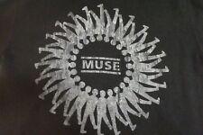 Muse Concert Hooded Zip-Up Sweatshirt, size XL