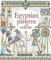 Egyptian Patterns to Colour by Struan Reid, NEW Book, FREE & Fast Delivery, (Pap
