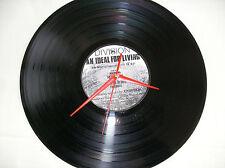 "JOY DIVISION An Ideal For Living   VINYL 12"" lp Wall Clock"