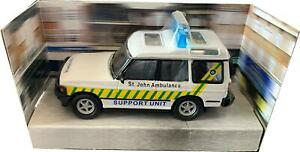 St Johns Ambulance, Land Rover Discovery 1:36 scale model from Richmond Toys