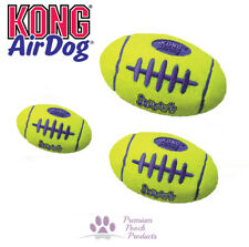 KONG AirDog Squeaker Dog Football Tennis ball fabric Squeak Play - LARGE size