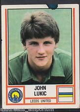 PANINI CALCIO 1981 Sticker-n. 135-Leeds United-John Lukic
