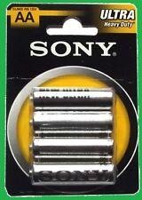 Lot de 12 Piles SONY AA R06 soit 3 Paquet 1,5 V