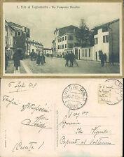 SAN VITO AL TAGLIAMENTO,VIA POMPONIO AMALTEO, VIAGGIATA - F.P.FRIULI(PN) N.41384